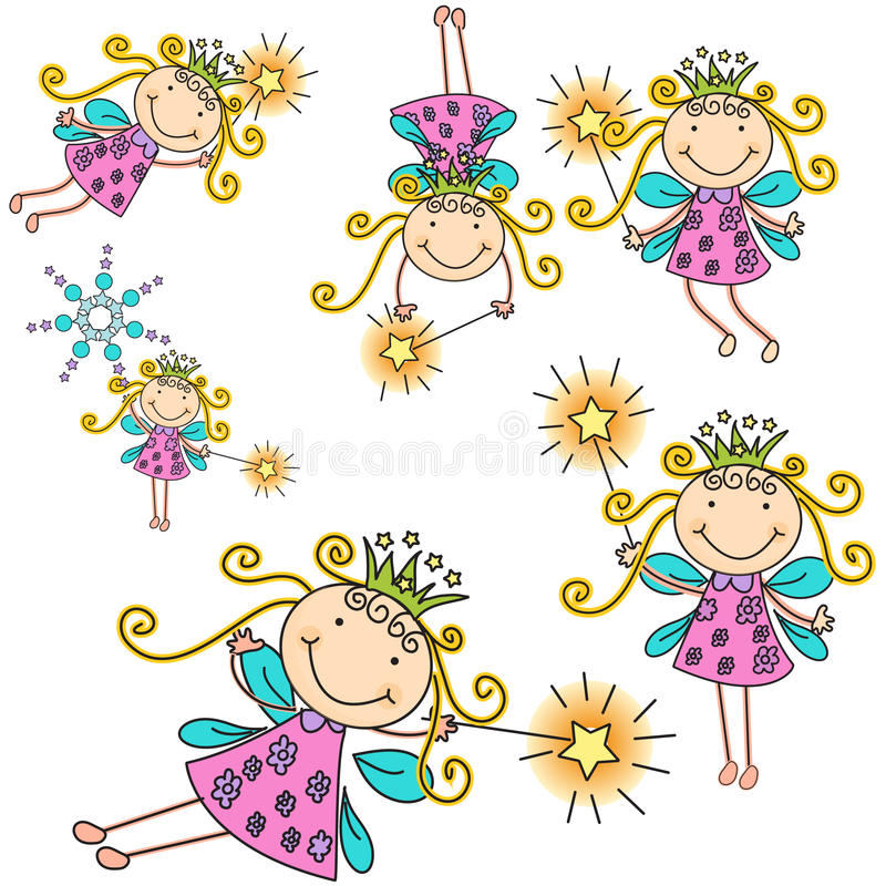 Fairies vector illustration