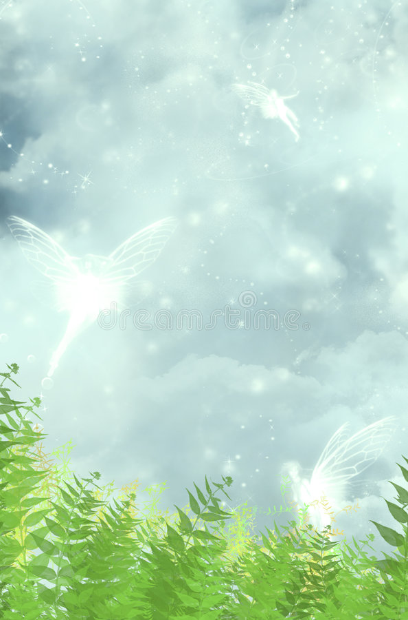 Fairies stock illustration