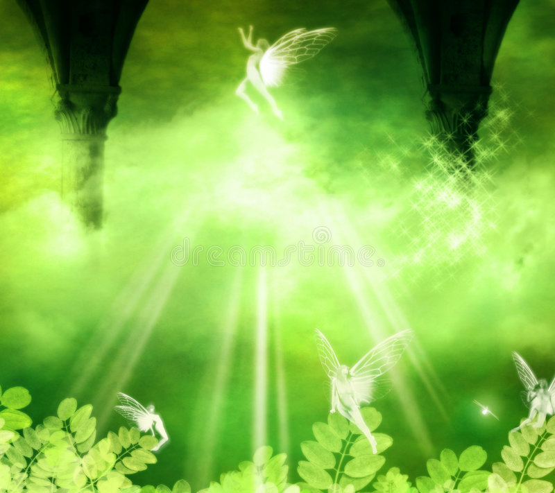 Fairies. Fantasy background for your artistic creations
