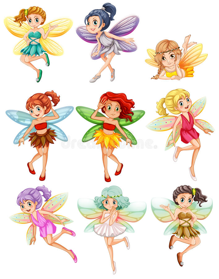 fairies stock illustratie