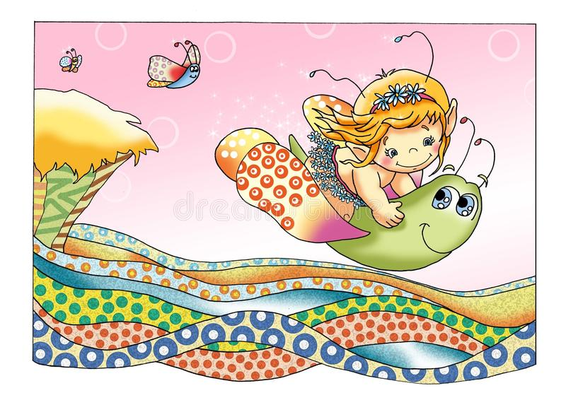 Download Fairies And Elves 2, The Game Stock Illustration - Image: 9951560