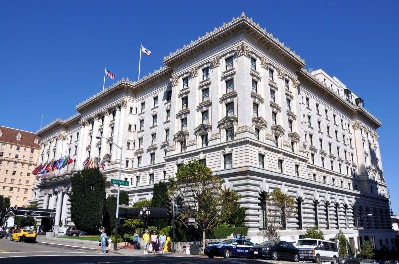 fairmont弗朗西斯科旅馆圣 库存图片
