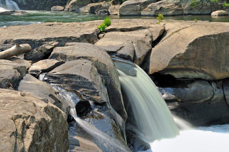 fairmont faller dalvattenfallwv arkivfoton
