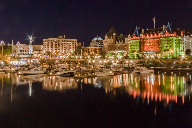 Fairmont-Kaiserin-Hotel Victoria Canada stockbilder