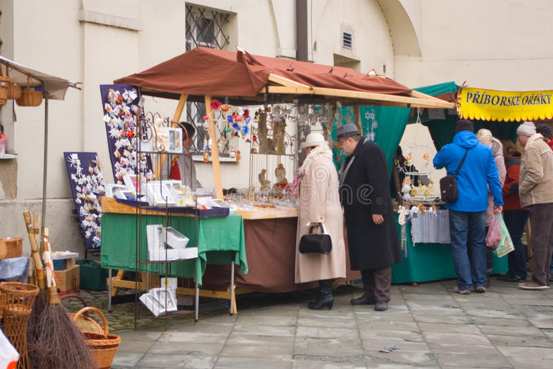 Fairs of christmas. Beskydy Museum in Frýdek-Místek, an organization, organizes Sunday, December 7, 2014 9:00 to 3:00 p.m. hours of traditional Christmas stock photography