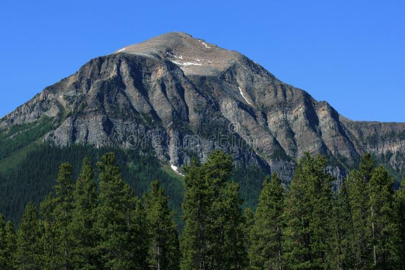 Fairview Mountain At Lake Louise Stock Photos