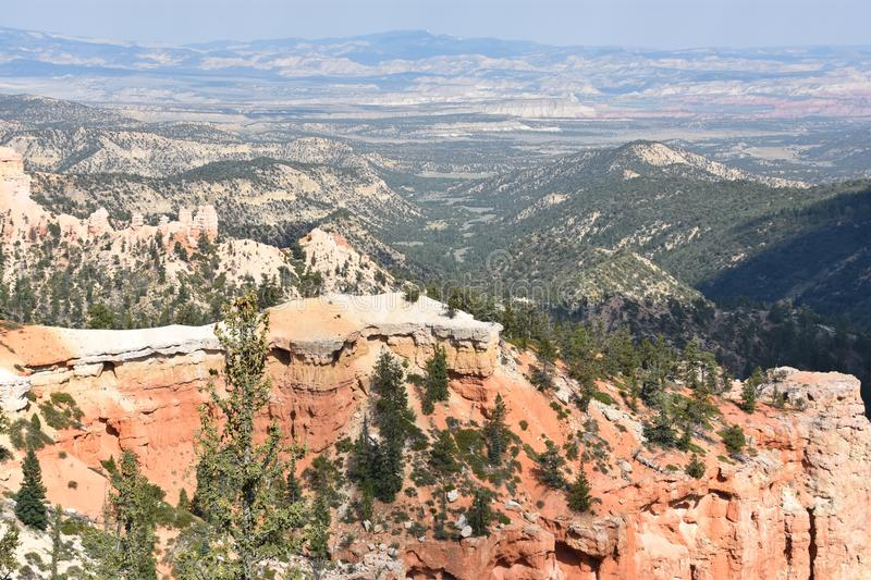 Bryce Canyon National Park in Utah. Fairview Point at Bryce Canyon National Park in Utah stock image