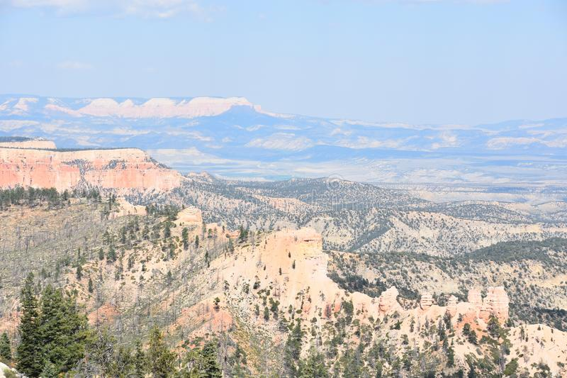 Bryce Canyon National Park in Utah. Fairview Point at Bryce Canyon National Park in Utah royalty free stock image