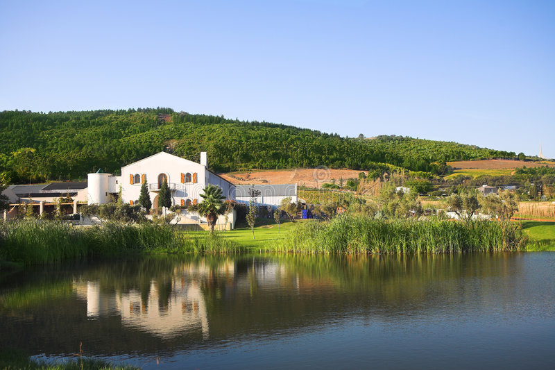 Download Fairview wine farm stock image. Image of south, house - 2315923