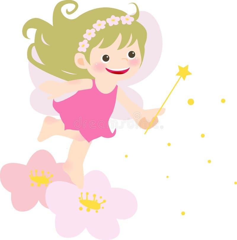 fairy девушка иллюстрация штока