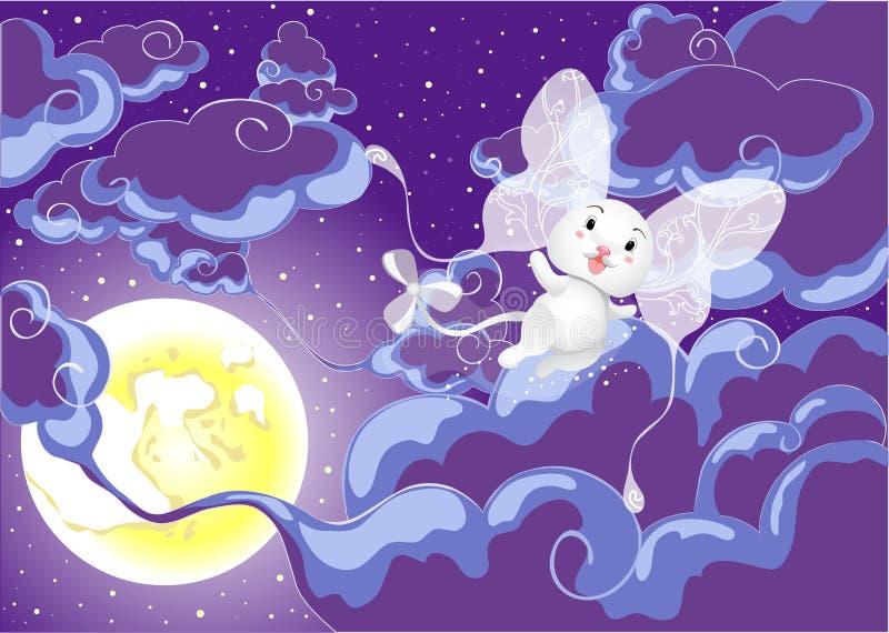 fairy мир иллюстрация штока