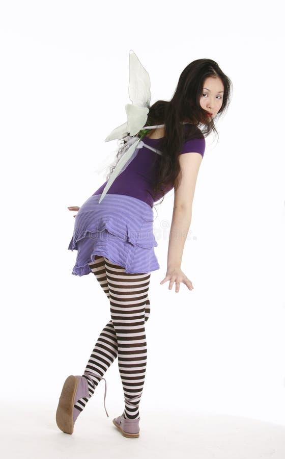 fairy пурпур стоковая фотография