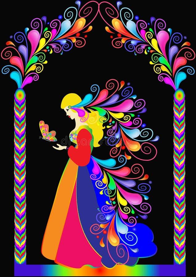fairy сказ princess иллюстрации иллюстрация штока