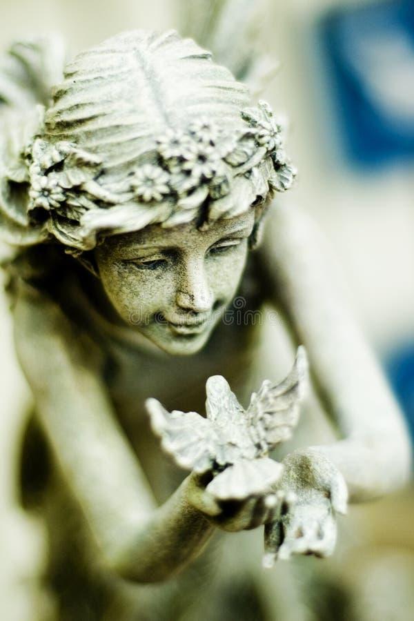 fairy статуя стоковое изображение rf