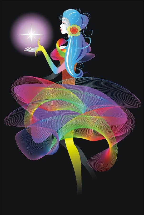 Fairy ilustração do vetor