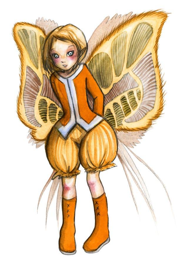 Download Fairy stock illustration. Image of magic, beautiful, manga - 19162853