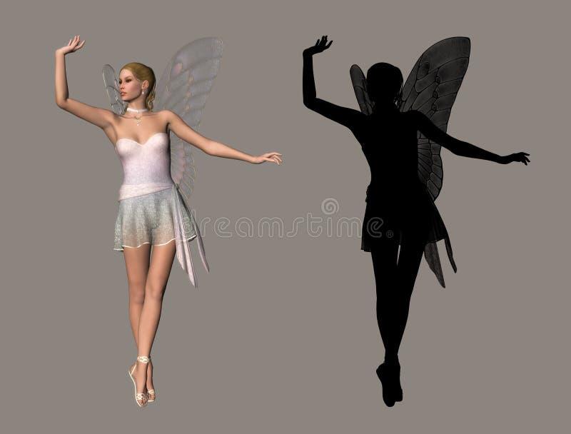 Fairy illustrazione di stock