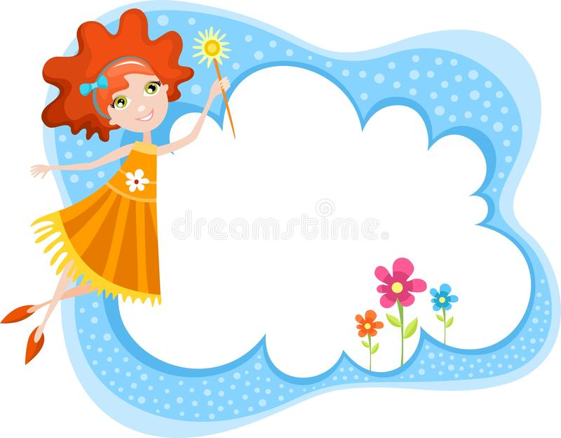 Fairy royalty free illustration