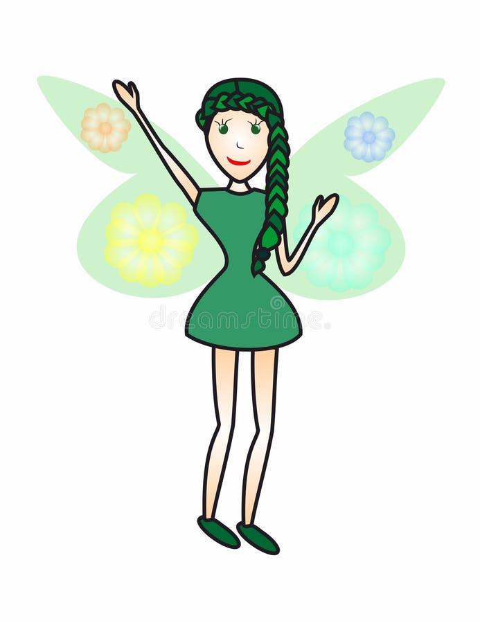 Fairy2 illustrazione vettoriale
