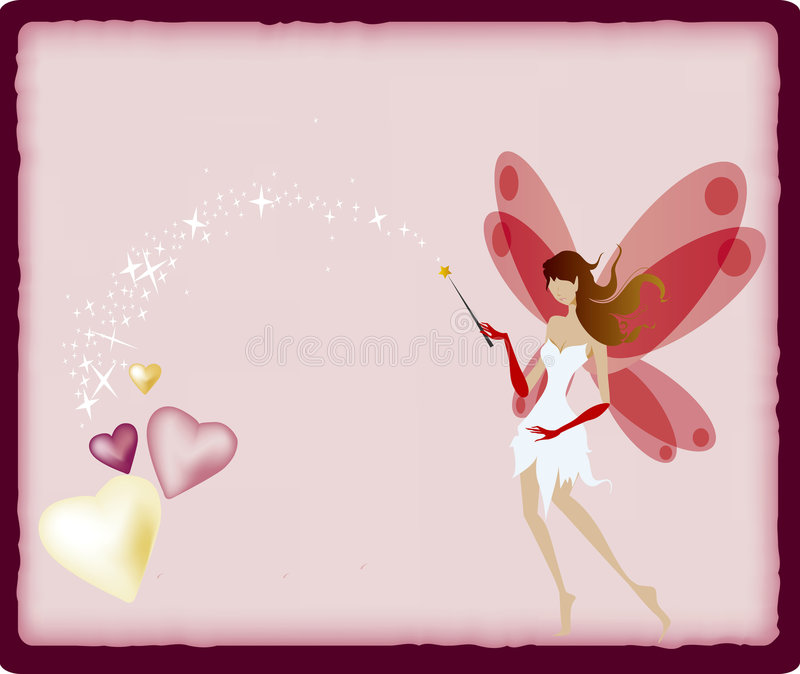 Fairy illustrazione di stock