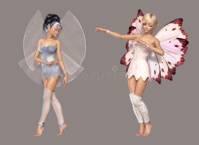 Fairy ilustração royalty free