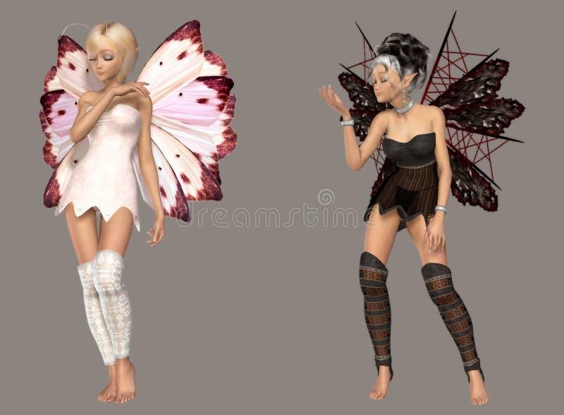 Fairy ilustração stock