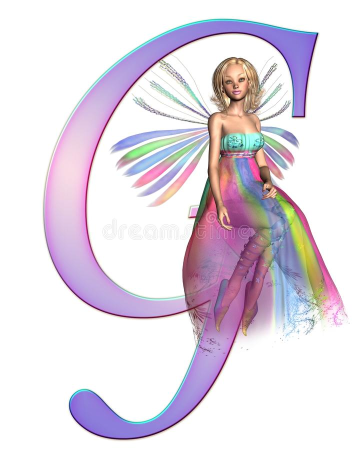 Download Fairy Alphabet - letter G stock illustration. Image of clip - 15730830