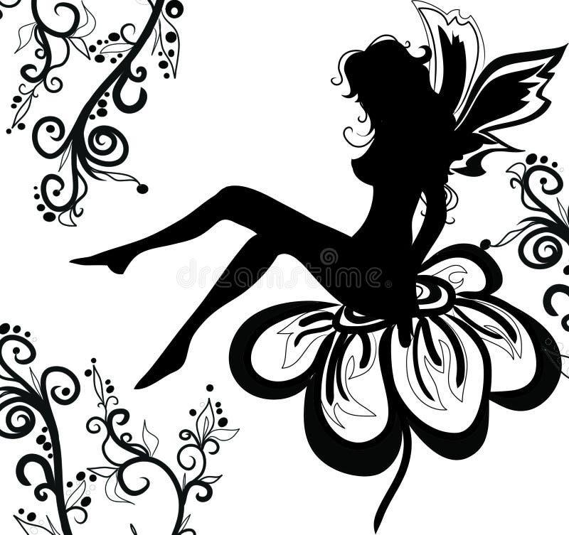 Fairy bello illustrazione vettoriale