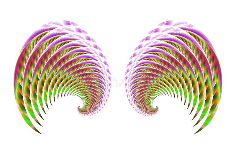 Download Fairy Bird Or Angel Wings 4 Stock Illustration - Image: 2009420