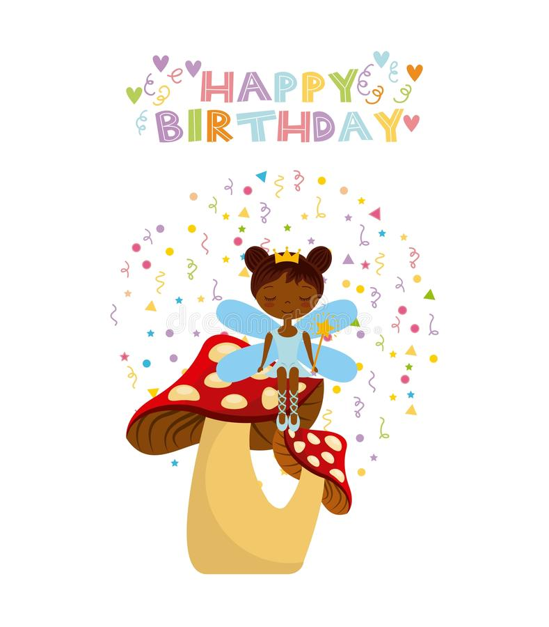 Fairy birthday card stock vector illustration of beautiful 80693731 download fairy birthday card stock vector illustration of beautiful 80693731 bookmarktalkfo Image collections