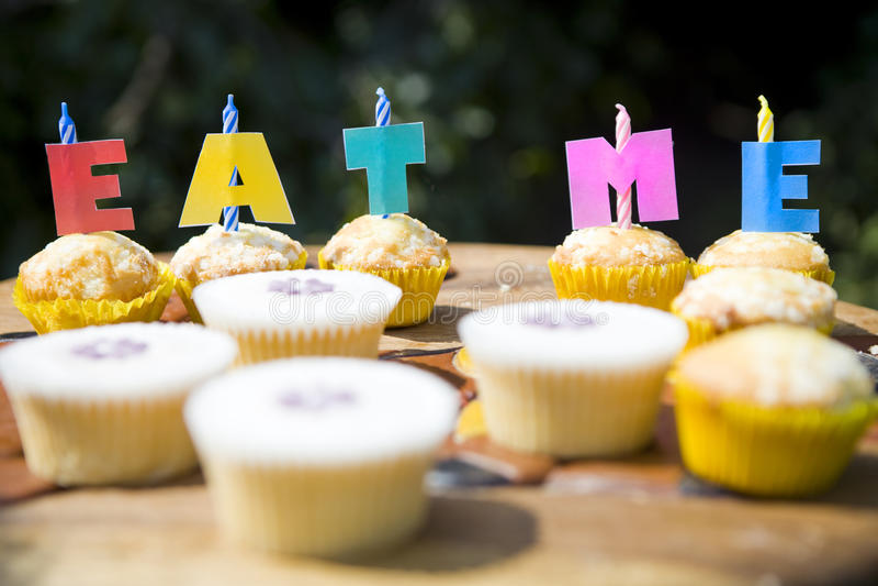 Fairy Cakes stock photos