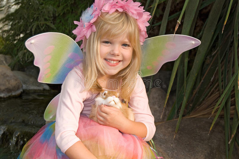 Fairy Child royalty free stock images