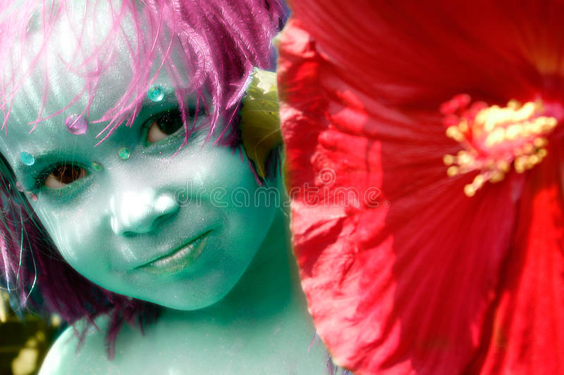 Download Fairy child stock image. Image of child, girl, fairies - 24300439
