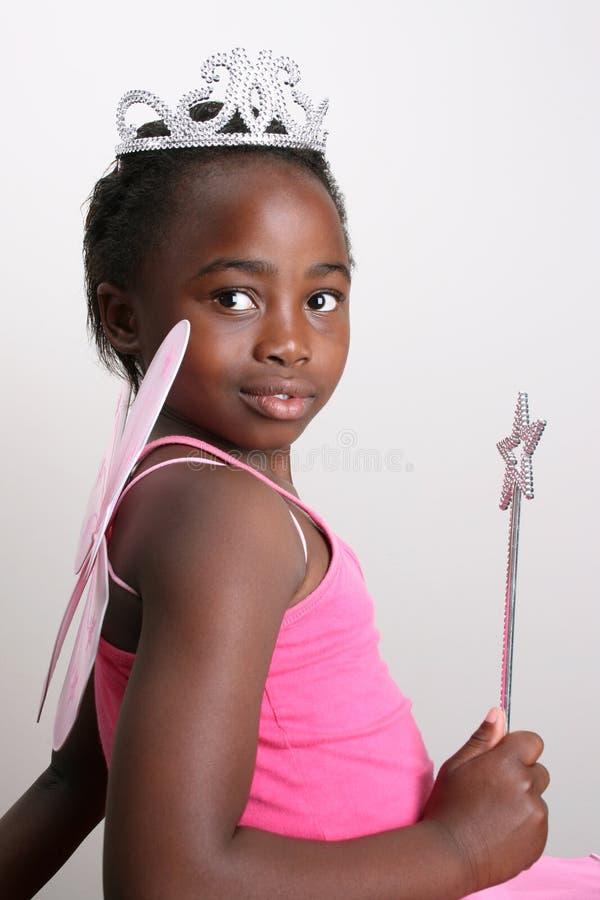 Fairy cor-de-rosa foto de stock