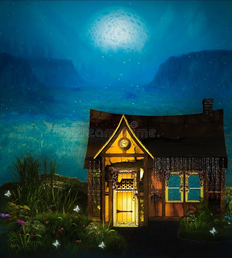Fairy Cottage vector illustration