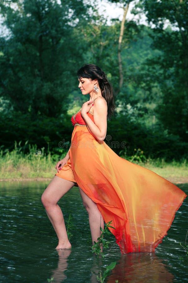 Fairy da água imagem de stock royalty free