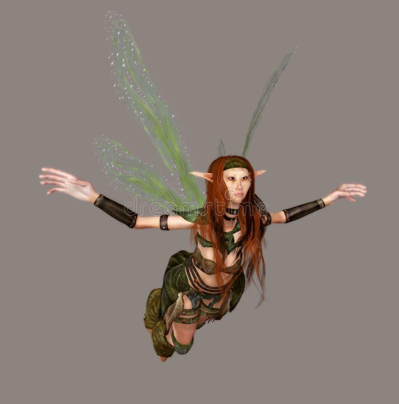 Fairy da floresta ilustração royalty free