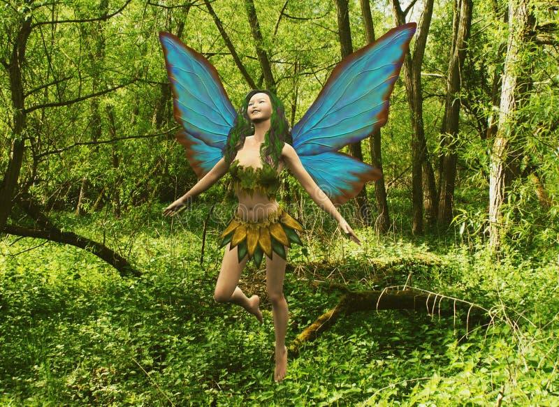 Fairy da floresta ilustração do vetor