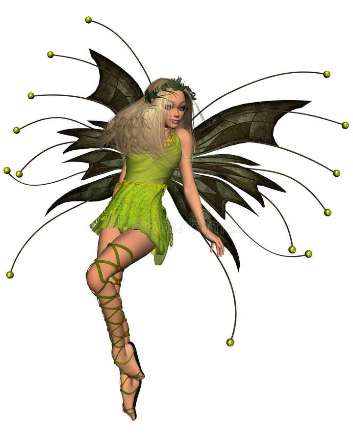 Fairy da mola - 2 ilustração stock