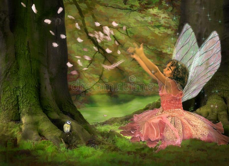 Fairy da pena imagens de stock