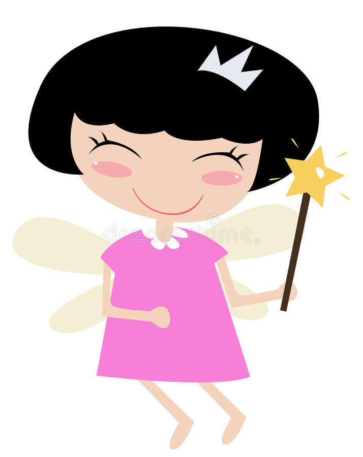 Fairy da princesa ilustração do vetor