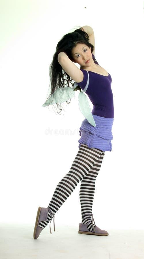 Fairy de Flirty foto de stock