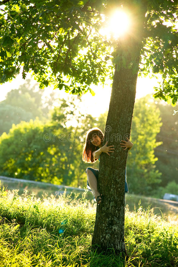 Fairy della foresta fotografia stock