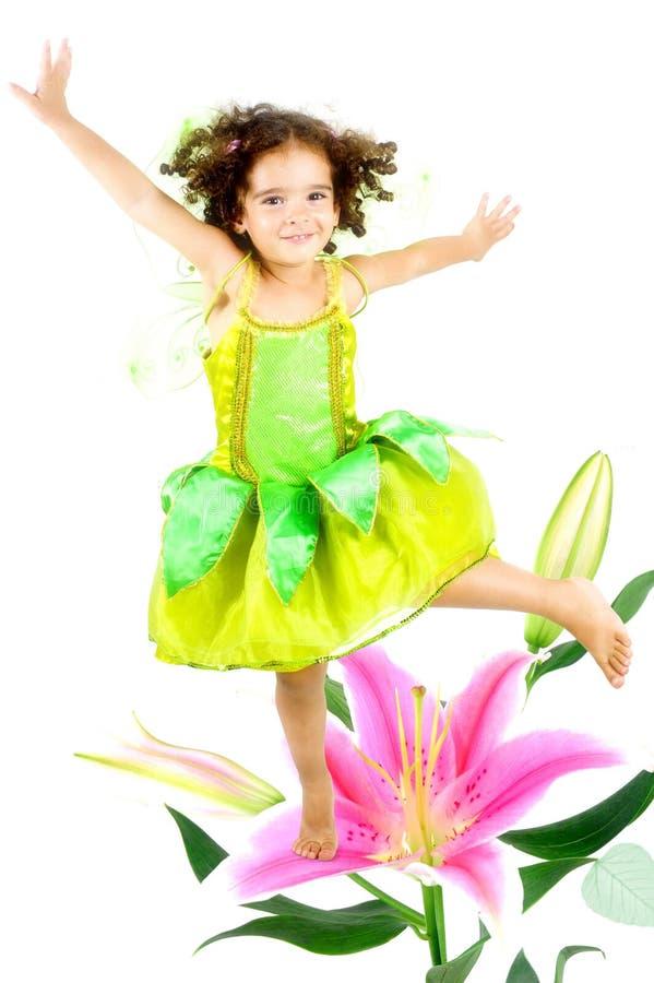 Fairy della sorgente fotografia stock