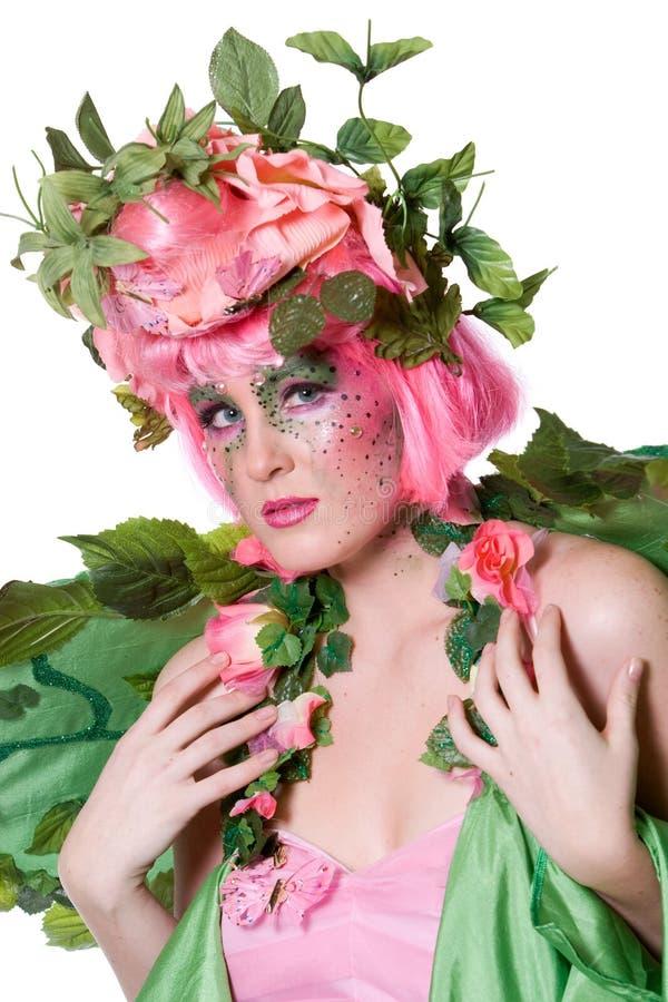 Fairy della sorgente fotografia stock libera da diritti
