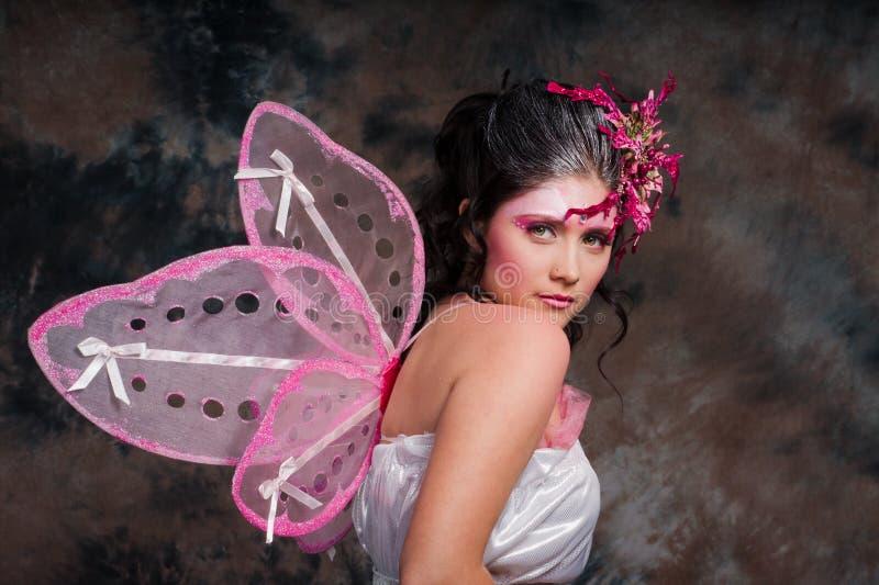 Fairy dentellare immagine stock