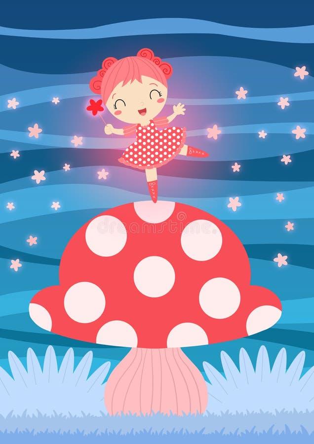 Fairy dentellare illustrazione vettoriale