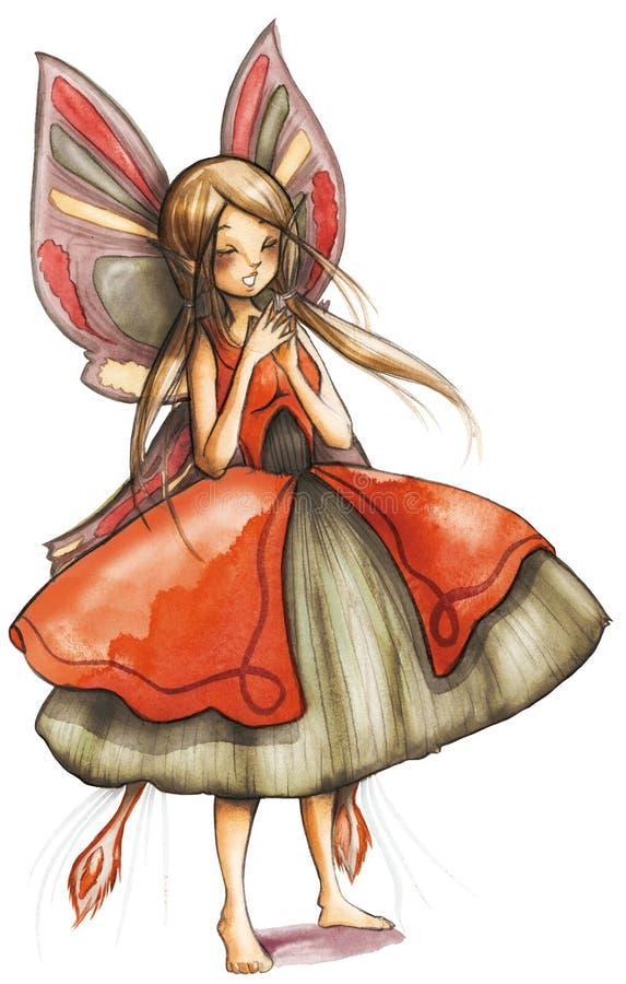 Fairy Di Canto Fotografia Stock