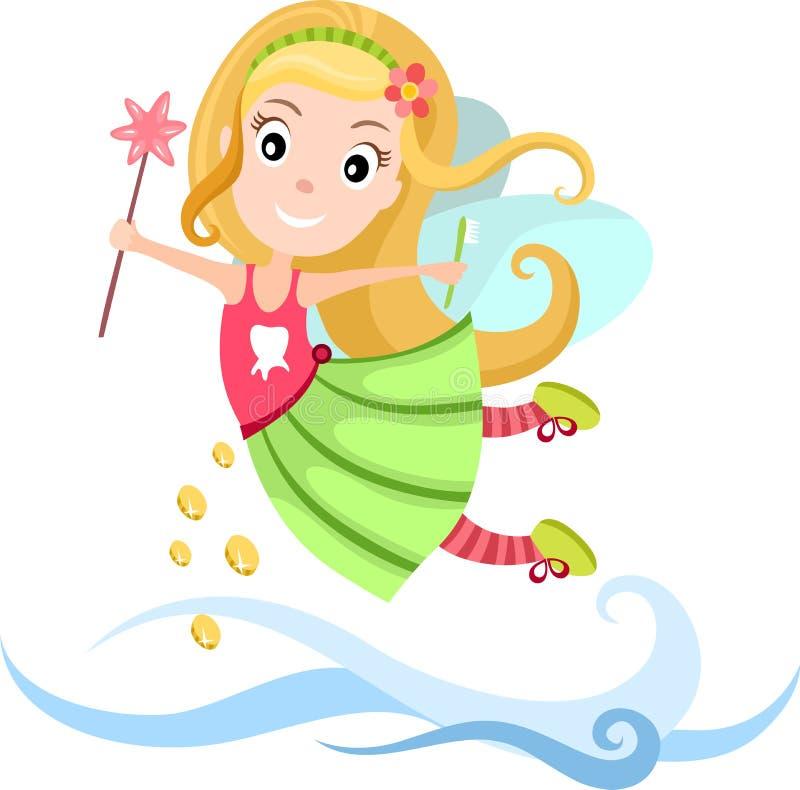 Fairy di dente illustrazione di stock