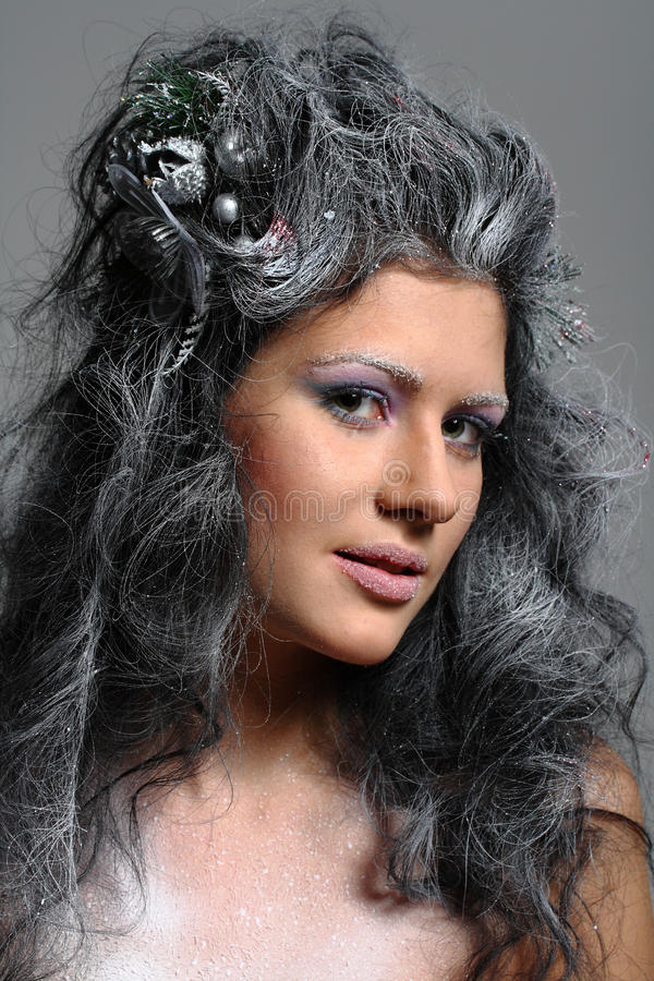 Fairy di inverno fotografia stock